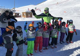 Kids are followingKids Ski Lessons (4-12 y.) - Holidays - Afternoon with EasySki Alpe d'Huez.