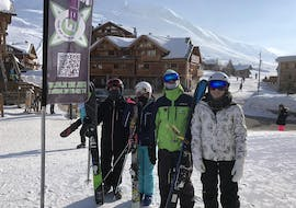 People are doing Off-Piste Skiing Lessons for Kids (12-18 y.) with our partner EasySki Alpe d'Huez.