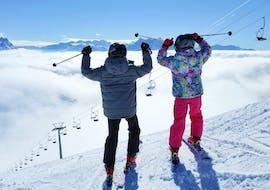 Cours particulier de ski Adultes & Famille pour Tous niveaux avec LeysinSki
