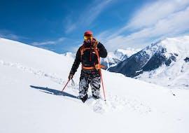 A private ski freeride lesson takes place in Baqueira with Escuela Ski Baqueira.