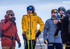 Cours de ski Adultes - Matin - Arc 1800 avec Evolution 2 - Arcs 1600 & 1800