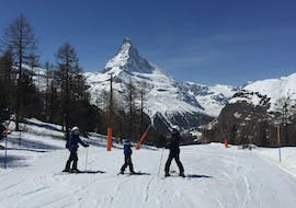 Private Ski Lessons for Families - Afternoon with Family Skiing Zermatt
