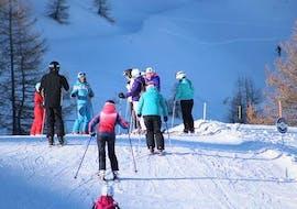 Skilessen voor volwassenen - beginners met Scuola di Sci Vialattea Sauze d'Oulx