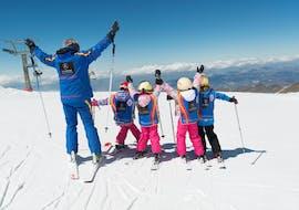 Kids Ski Lessons (5-12 y.) for Beginners in the Weekend with Escuela Española de Esquí y Snowboard Sierra Nevada