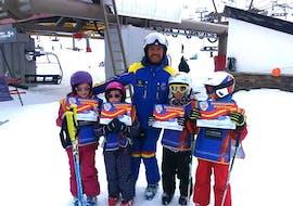 Kids Ski Lessons (5-12 y.) for Beginners - All in One  with Escuela Española de Esquí y Snowboard Sierra Nevada