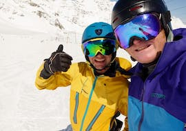 Alpine Skiing Coaching, private and small private group (LS) with Gunther Knauthe